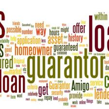 Guarantor Loans Tag Cloud