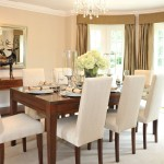 Creating a modern dining room