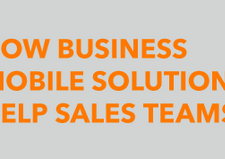 How Business Mobile Solutions Help Sales Teams [infographic]